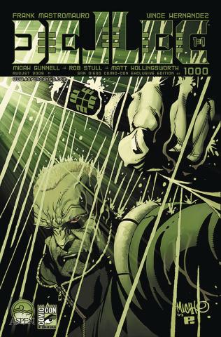 Dellec #1 (SDCC 2009 Cover)