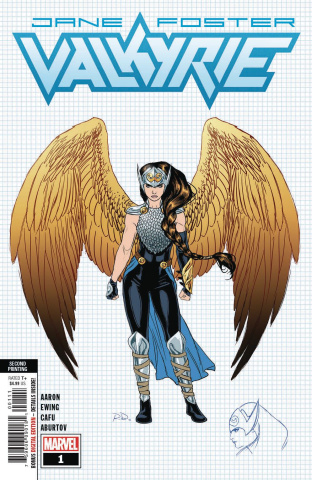 Jane Foster: Valkyrie #1 (New Art Dauterman 2nd Printing)