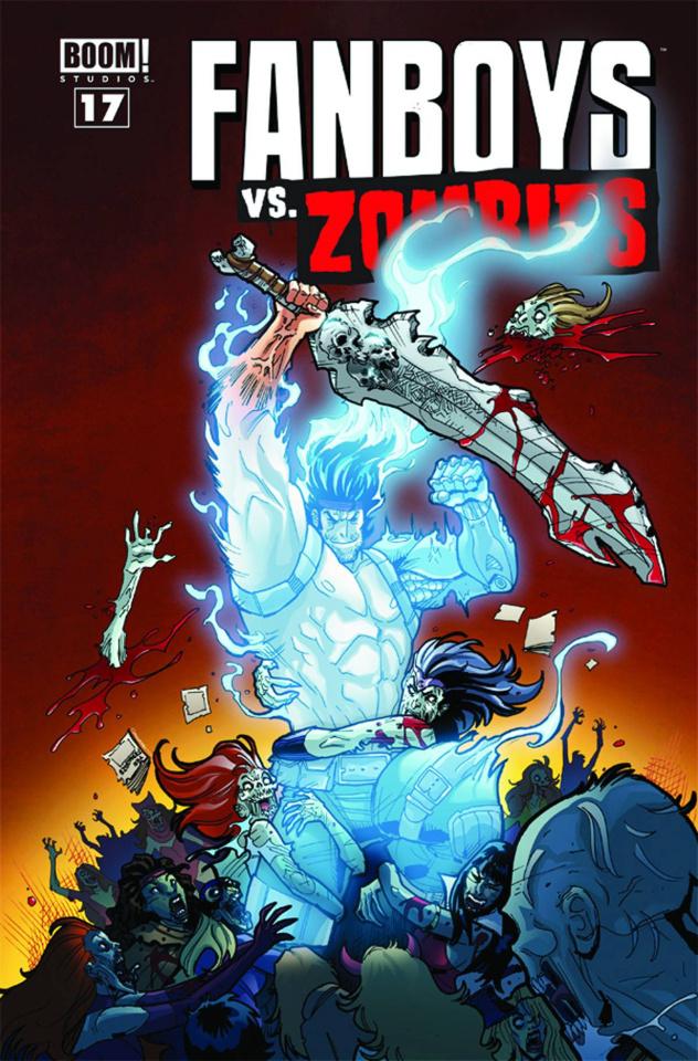 Fanboys vs. Zombies #17