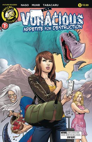 Voracious: Appetite for Destruction #3 (Muhr Cover)