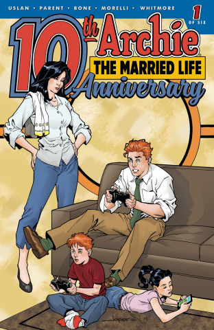 Archie: The Married Life - 10 Years Later #1 (Lopresti Cover)