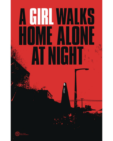 A Girl Walks Home Alone At Night #1 (5 Copy Deweese Cover)
