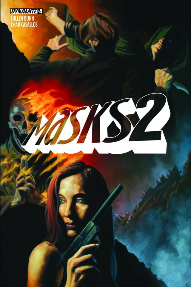Masks 2 #4 (10 Copy Worley Cover)
