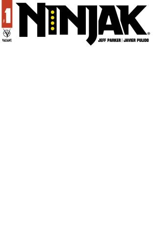 Ninjak #1 (Blank Cover)