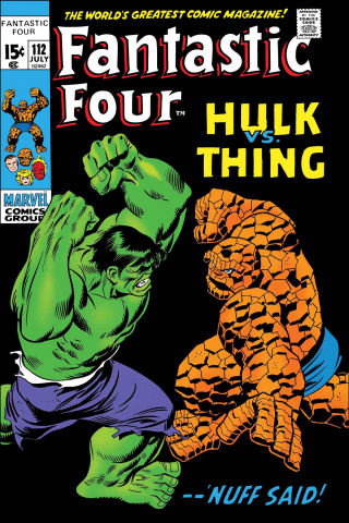 Fantastic Four: Hulk vs. Thing #1 (True Believers)