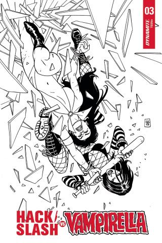 Hack/Slash vs. Vampirella #3 (20 Copy Cover)