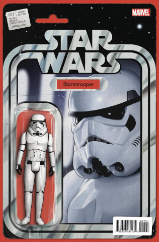 Star Wars #7 (Chistopher Action Figure Cover)