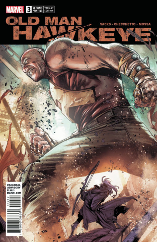 Old Man Hawkeye #3 (Checchetto 2nd Printing)