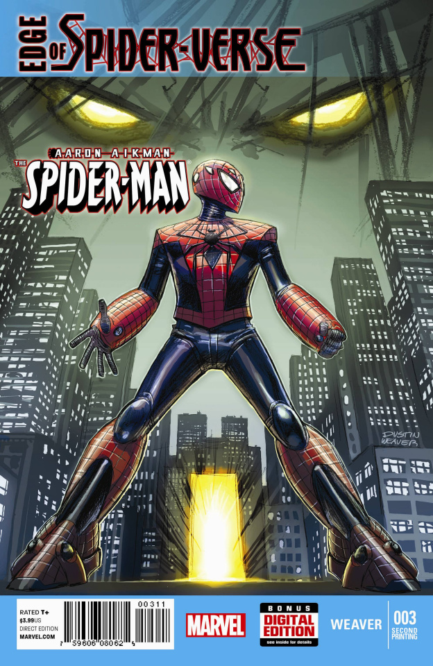Edge of Spider-Verse #3 (2nd Printing)