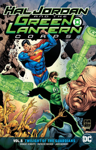 Hal Jordan and the Green Lantern Corps Vol. 5: Twilight of the Guardians (Rebirth)