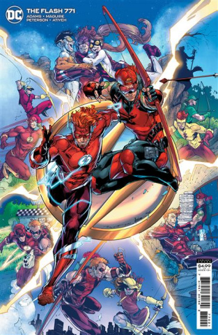 The Flash #771 (Brett Booth Card Stock Cover)