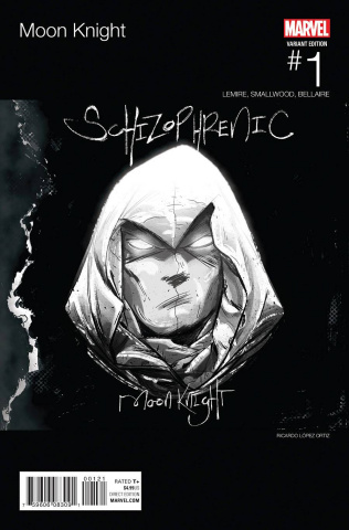 Moon Knight #1 (Ortiz Hip Hop Cover)
