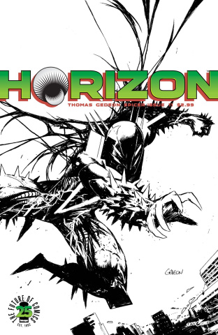 Horizon #11 (Spawn Month B&W Cover)