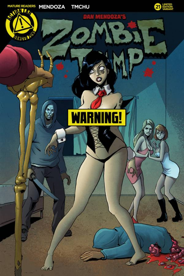 Zombie Tramp #21 (TMChu Risque Cover)