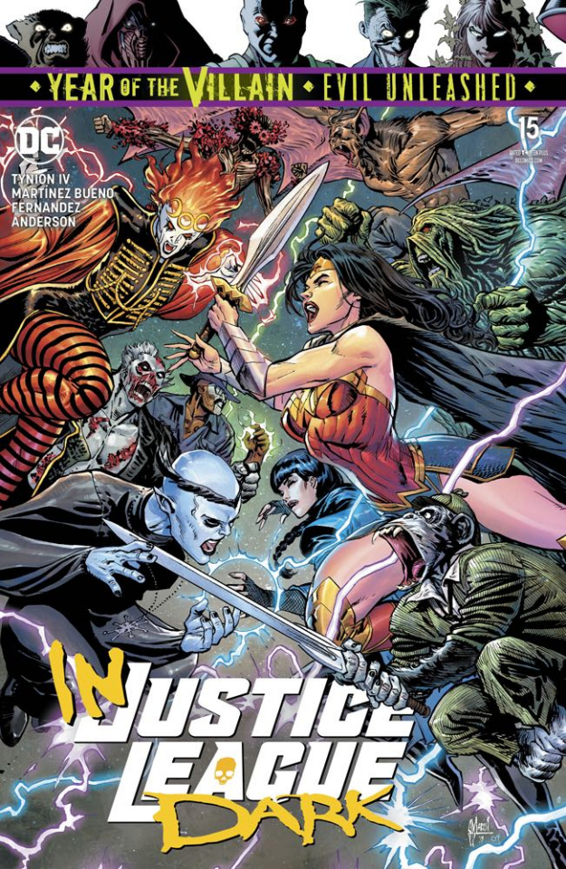 Justice League Dark #15 (Year of the Villain)