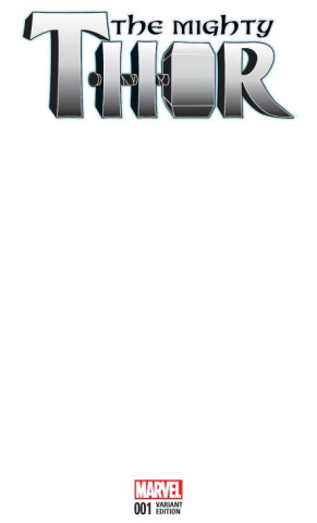 The Mighty Thor #1 (Blank Cover)