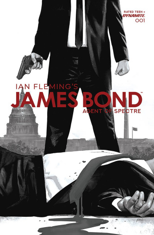 James Bond: Agent of SPECTRE #1 (20 Copy Epting B&W Cover)