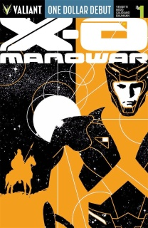 X-O Manowar #1 (Dollar Debut Edition)