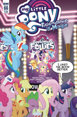 My Little Pony: Friendship Is Magic #66 (Fleecs Cover)