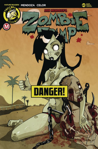 Zombie Tramp #40 (Mendoza Risque Cover)