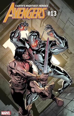 Avengers #13 (McKone Conan Cover)