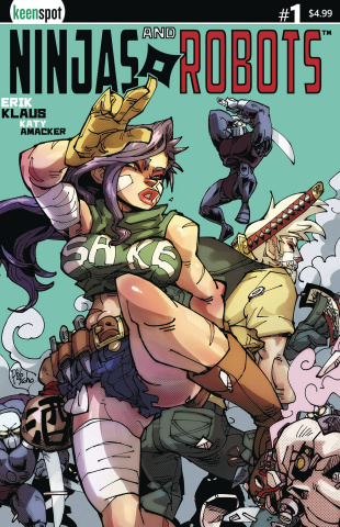 Ninjas and Robots #1 (Piyotycho Cover)