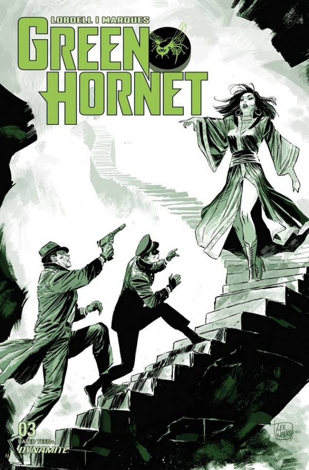 Green Hornet #3 (Weeks Cover)