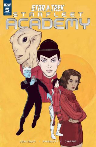 Star Trek: Starfleet Academy #5 (10 Copy Cover)