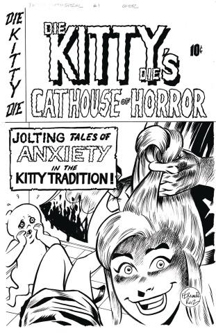 Die Kitty, Die! Cathouse of Horror Special #1 (Ruiz Cover)