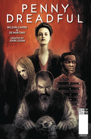 Penny Dreadful #1 (Templesmith Cover)