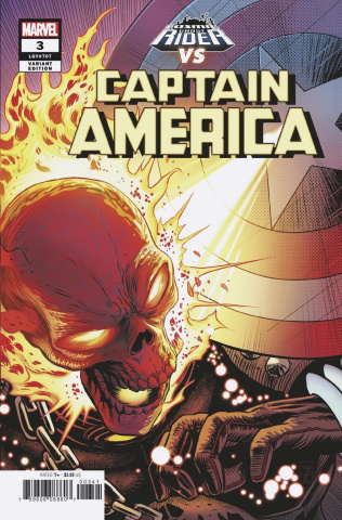 Captain America #3 (Zircher Cosmic Ghost Rider Cover)