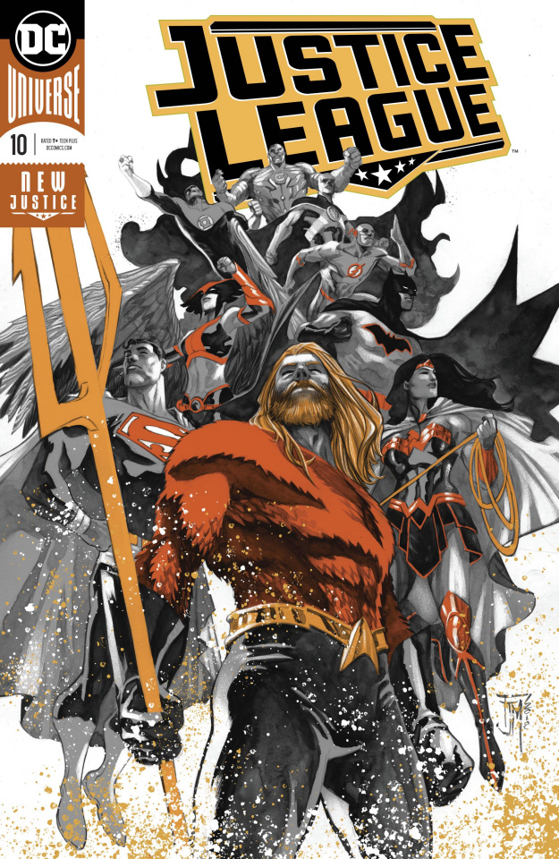 Justice League #10 (Drowned Earth)