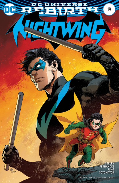 Nightwing #19 (Variant Cover)