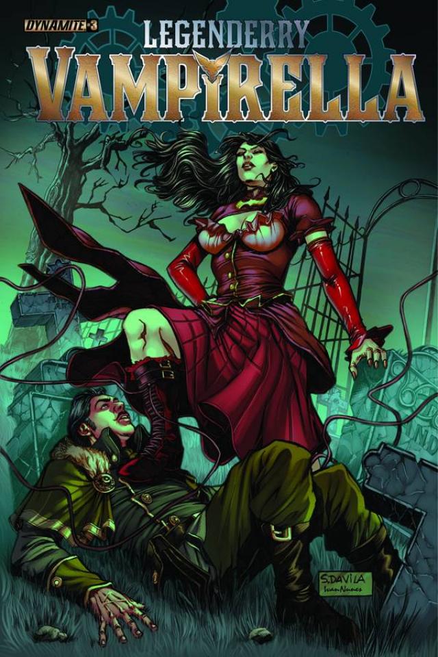Legenderry: Vampirella #3