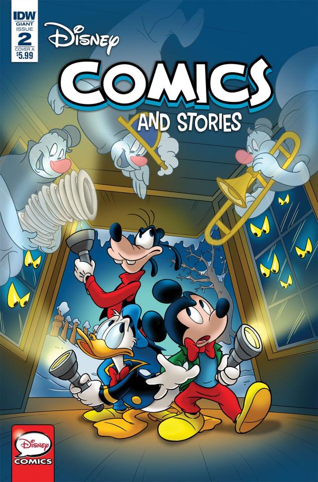 Disney Comics and Stories #2 (Campinoti Cover)