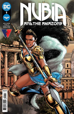 Nubia and The Amazons #1 (Alitha Martinez Cover)