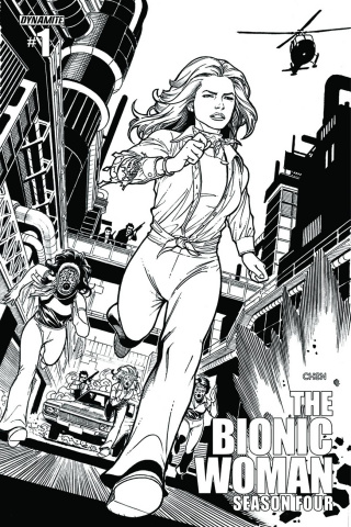 The Bionic Woman, Season Four #1 (15 Copy Chen Cover)