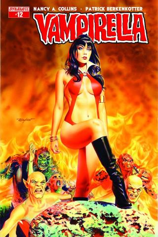 Vampirella #12 (Mayhew Cover)