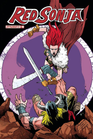 Red Sonja #19 (7 Copy Peeples Homage Cover)