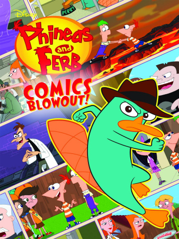 Phineas And Ferb Omnibus Vol. 1