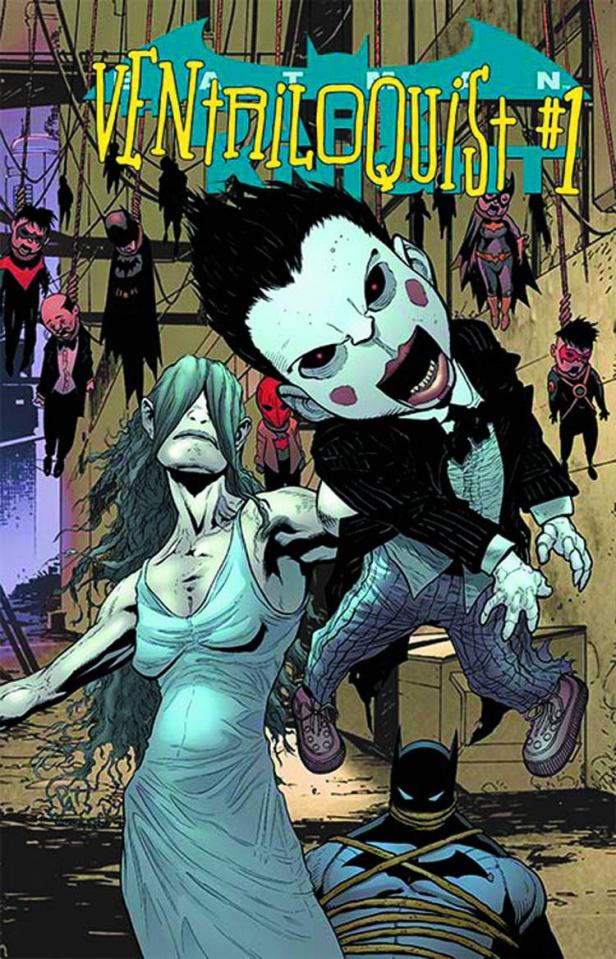 Batman: The Dark Knight #23.1: Ventriloquist Standard Cover)