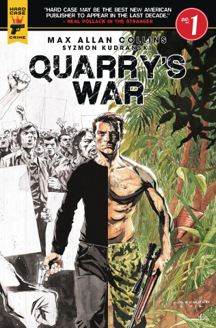 Quarry's War #1 (Drummond Cover)