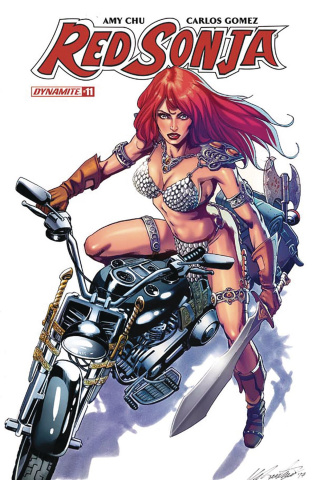 Red Sonja #11 (Santucci Cover)
