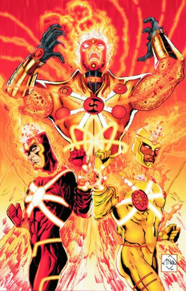 The Fury of Firestorm: The Nuclear Men Vol. 1: The God Particle
