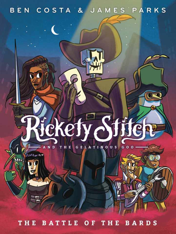 Rickety Stitch and the Gelatinous Goo Vol. 3: The Battle of the Bards