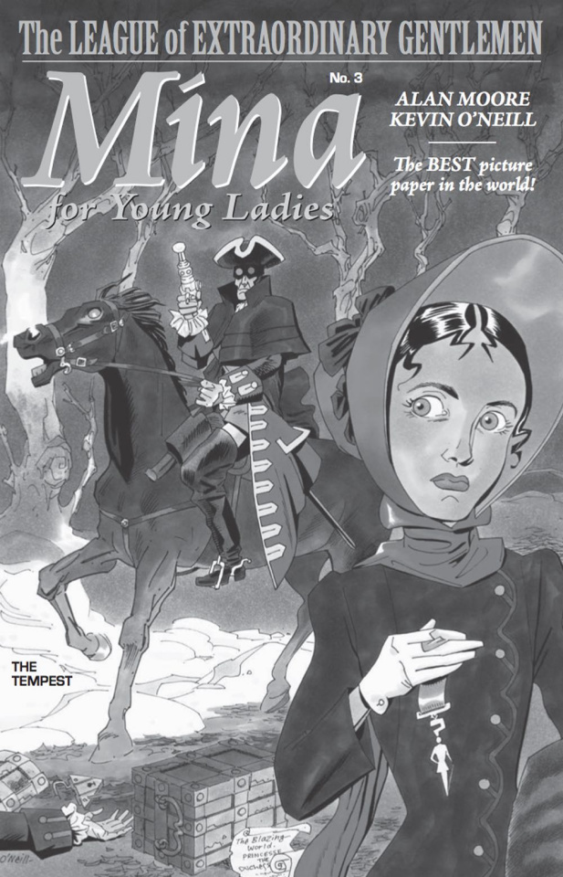 The League of Extraordinary Gentlemen: The Tempest #3 (25 Copy O'Neill Cover)