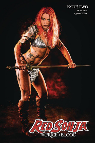 Red Sonja: The Price of Blood #2 (Ray Cosplay Cover)