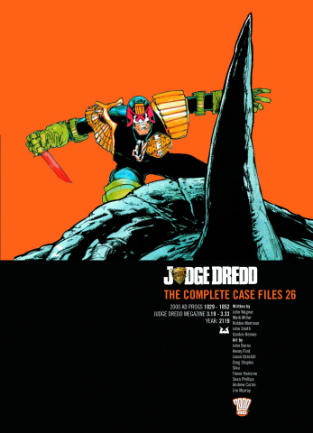Judge Dredd: The Complete Case Files Vol. 26