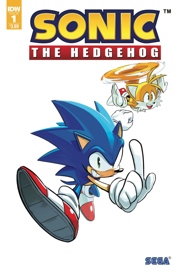 Sonic the Hedgehog #1 (3rd Printing)