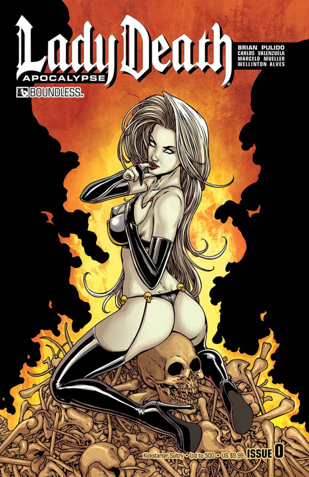 Lady Death: Apocalypse #0 (Kickstarter Sultry Cover)